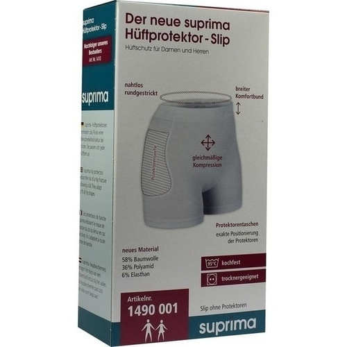 suprima Hüftprotektor-Slip unisex Gr.L, 1 ST, Suprima GmbH