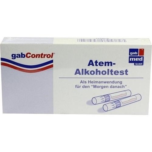 GabControl HomeLAB Atem-Alkoholtest, 3 ST, Gabmed GmbH