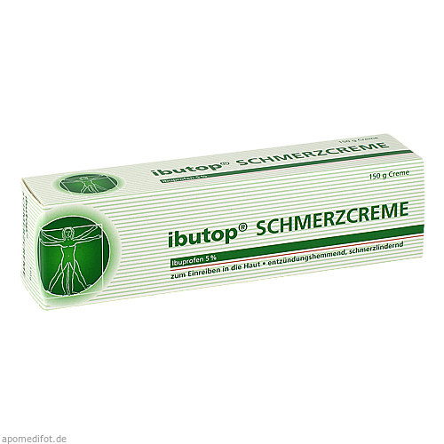 ibutop Schmerzcreme, 150 G, Axicorp Pharma GmbH