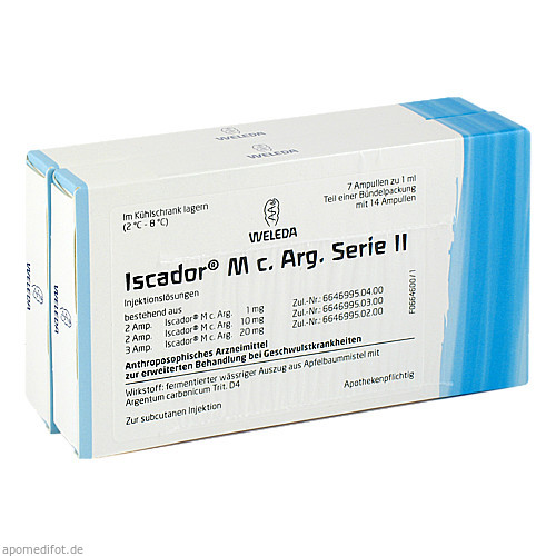 Iscador M c. Arg Serie II, 14X1 ML, Iscador AG