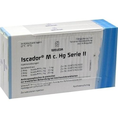 Iscador M c. Hg Serie II, 14X1 ML, Iscador AG