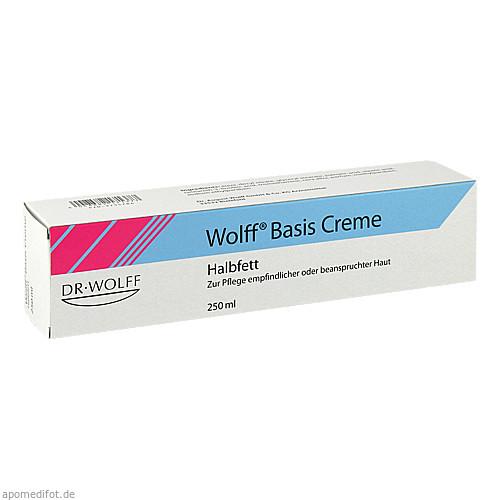 WOLFF BASIS CREME HALBFETT, 250 ML, Dr. August Wolff GmbH & Co. KG Arzneimittel
