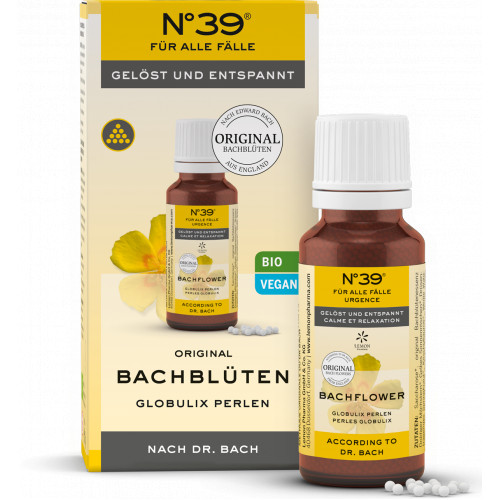 Bachblüten Notfall No. 39 Globulix, 20 G, Lemon Pharma GmbH & Co. KG