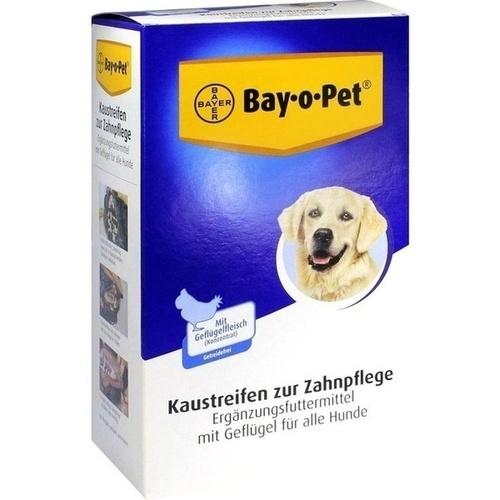 Bay-o-Pet Geflügel Kaustreifen für Hunde, 140 G, Bayer Vital GmbH Gb - Tiergesundheit