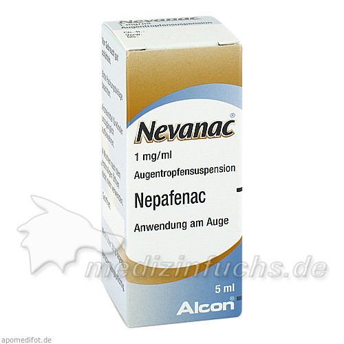 Nevanac 1 mg/ml Augentropfensuspension, 5 ML, Novartis Pharma GmbH