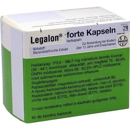 Legalon forte Kapseln, 60 ST, Emra-Med Arzneimittel GmbH