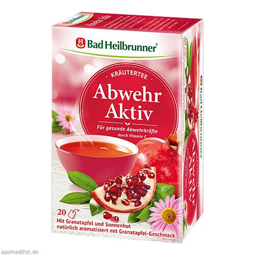 Bad Heilbrunner Kräutertee Abwehr Aktiv, 20 ST, Bad Heilbrunner Naturheilmittel GmbH & Co. KG