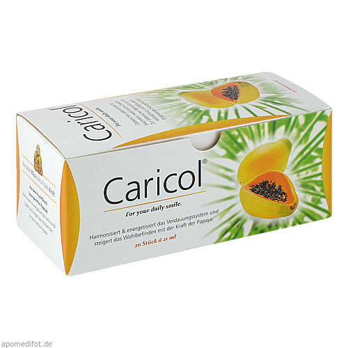 Caricol, 20X21 ML, INSTITUT ALLERGOSAN Deutschland (privat) GmbH