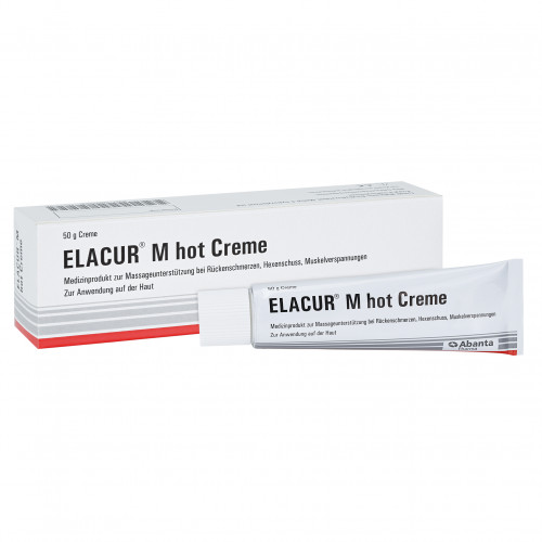 ELACUR M hot, 50 G, Abanta Pharma GmbH