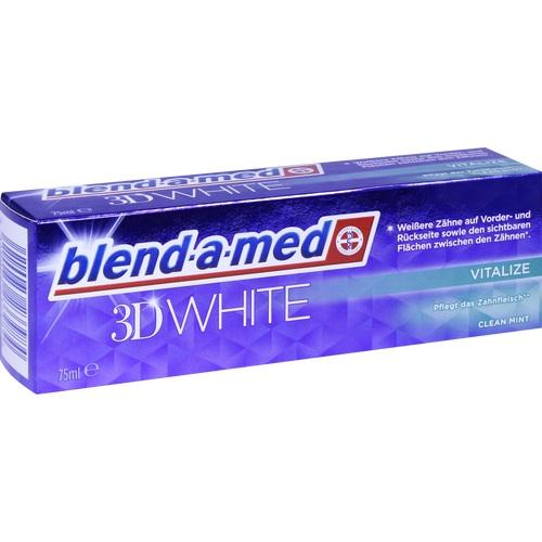 blend-a-med 3D WHITE vitalize, 75 ML, Procter & Gamble GmbH