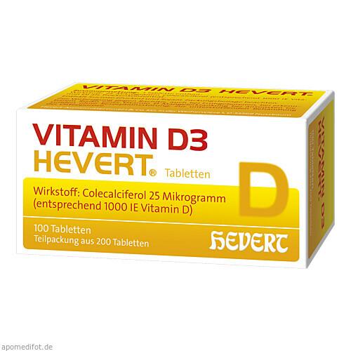 VITAMIN D3 Hevert Tabletten, 200 ST, Hevert Arzneimittel GmbH & Co. KG