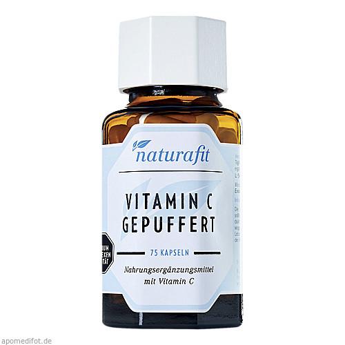 Naturafit Vitamin C (gepuffert), 75 ST, Naturafit GmbH