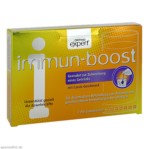immun-boost Orthoexpert Trinkgranulat, 7X10.2 G, Weber & Weber GmbH & Co. KG
