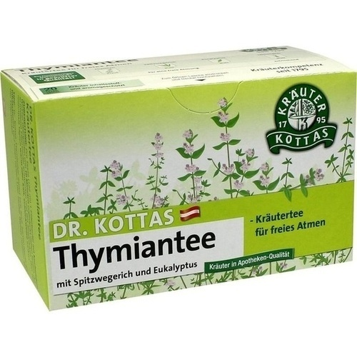 DR. KOTTAS Thymiantee mit Spitzweg. und Eukal.Fbtl, 20 ST, Hecht Pharma GmbH GB - Handelsware