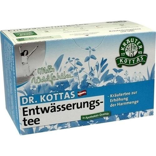 DR. KOTTAS Entwässerungstee Filterbeutel, 20 ST, Hecht-Pharma GmbH