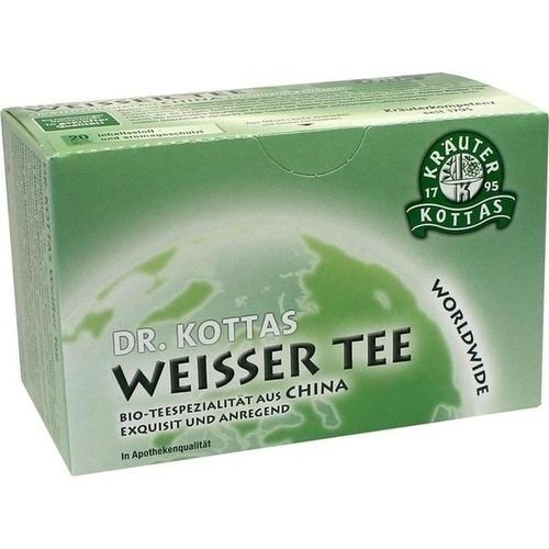 DR. KOTTAS Weißer Tee Filterbeutel, 20 ST, Hecht Pharma GmbH GB - Handelsware