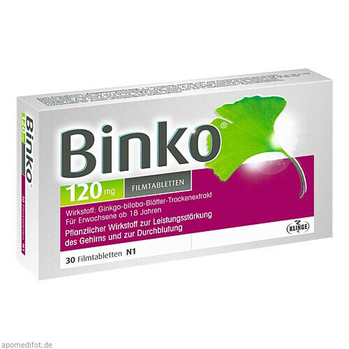 BINKO 120 MG, 30 ST, Klinge Pharma GmbH