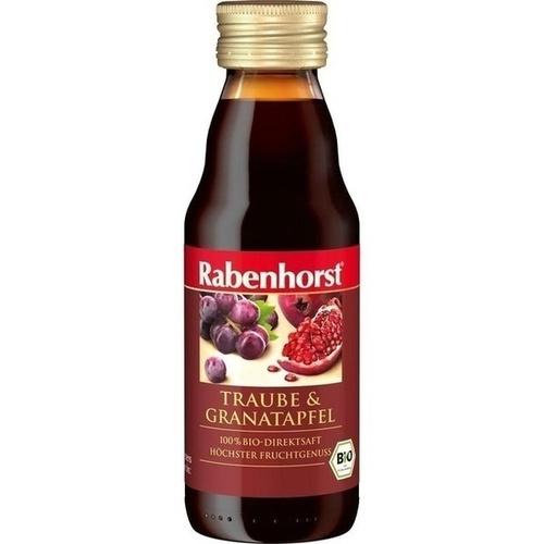 Rabenhorst Granatapfel in Traube Bio Mini, 125 ML, Haus Rabenhorst O. Lauffs GmbH & Co. KG