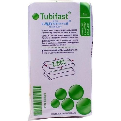 TUBIFAST 2-WAY-STRETCH GRÜN (5 CM BREIT) 1 M, 1 ST, Mölnlycke Health Care GmbH