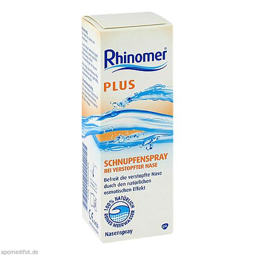 Rhinomer Plus Schnupfenspray, 20 ML, GlaxoSmithKline Consumer Healthcare