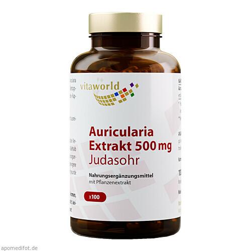 Auricularia Extrakt Bio 500mg, 100 ST, Vita World GmbH