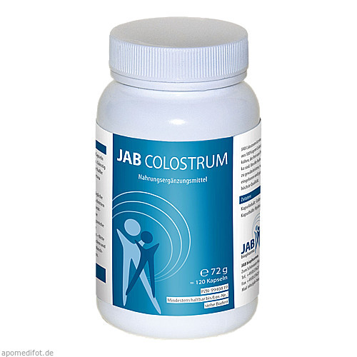 JAB Colostrum, 120 ST, Jab Biopharma