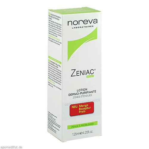 ZENIAC Lösung, 125 ML, Laboratoires Noreva GmbH