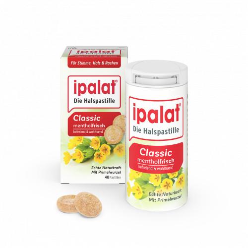 Ipalat Halspastillen classic, 40 ST, Dr. Pfleger Arzneimittel GmbH