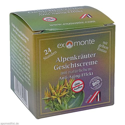 Alpenkräuter Gesichtscreme exmonte ohne Paraffine, 50 ML, Apofit Arzneimittelvertrieb GmbH