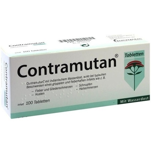 Contramutan Tabletten, 100 ST, MCM KLOSTERFRAU Vertr. GmbH