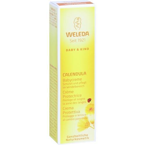WELEDA Calendula Babycreme classic, 10 ML, Weleda AG