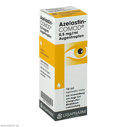 Azelastin-COMOD 0.5mg/ml, 10 ML, Ursapharm Arzneimittel GmbH