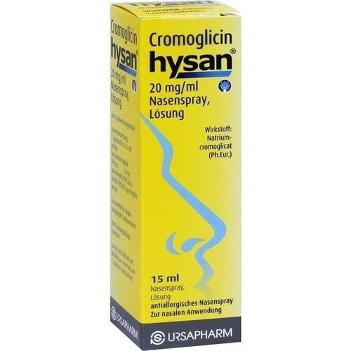Cromoglicin hysan, 15 ML, Ursapharm Arzneimittel GmbH