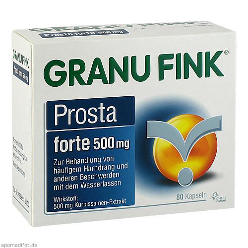 GRANU FINK Prosta forte 500 mg, 80 ST, Omega Pharma Deutschland GmbH