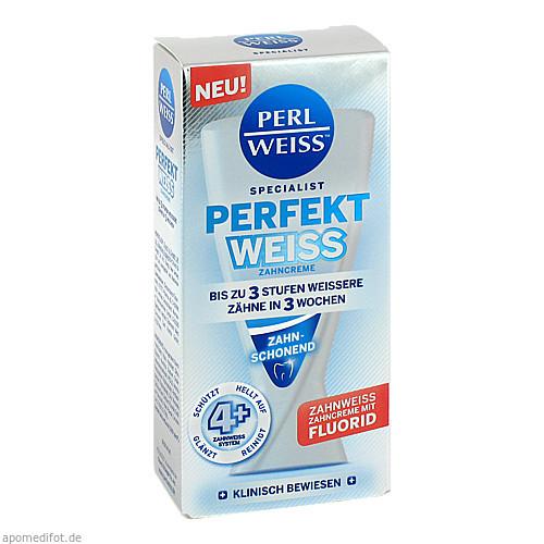 PERLWEISS Perfekt Weiss Zahncreme, 50 ML, Fette Pharma AG