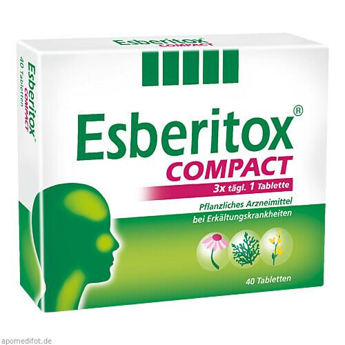 ESBERITOX COMPACT Tabletten, 40 ST, SCHAPER & BRÜMMER GmbH & Co. KG