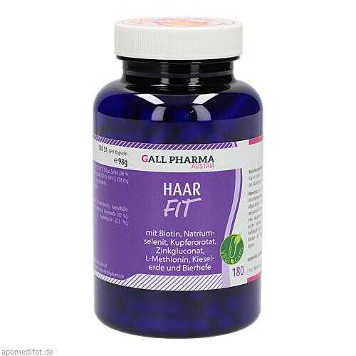 Haar-Fit GPH Kapseln, 180 ST, Hecht-Pharma GmbH