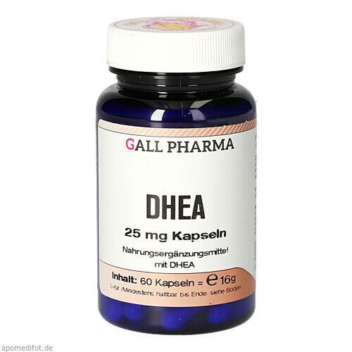 DHEA 25mg Kapseln, 60 ST, Gall-Pharma GmbH