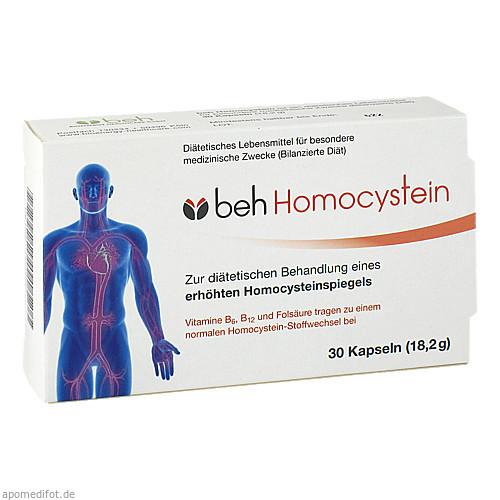 beh Homocystein, 30 ST, Bioenergy Healthcare GmbH