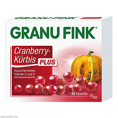 GRANU FINK Cranberry-Kürbis PLUS, 60 ST, Omega Pharma Deutschland GmbH