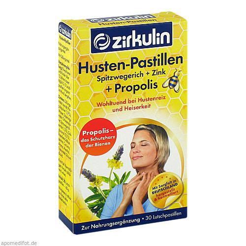Zirkulin Husten-Pastillen Spitzwegerich Zink Prop., 30 ST, Roha Arzneimittel GmbH