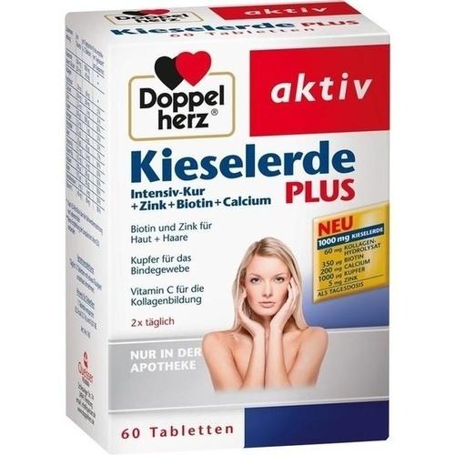 Doppelherz Kieselerde Plus, 60 ST, Queisser Pharma GmbH & Co. KG