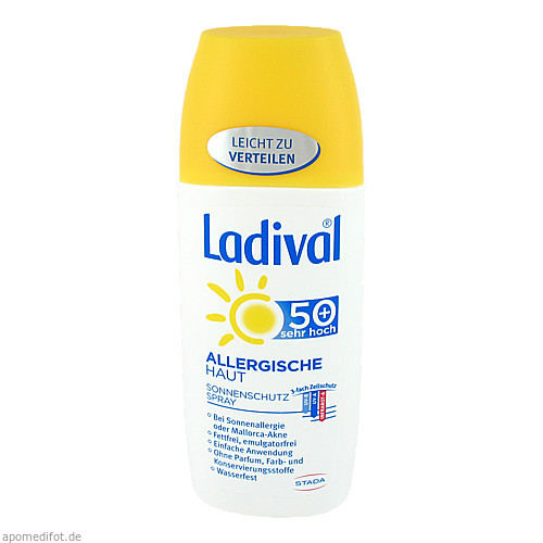 Ladival Allergische Haut Spray LSF 50+, 150 ML, STADA GmbH