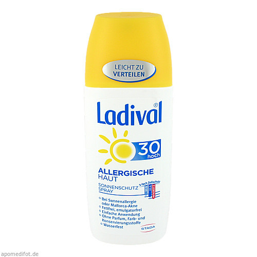 Ladival Allergische Haut Spray LSF 30, 150 ML, STADA GmbH