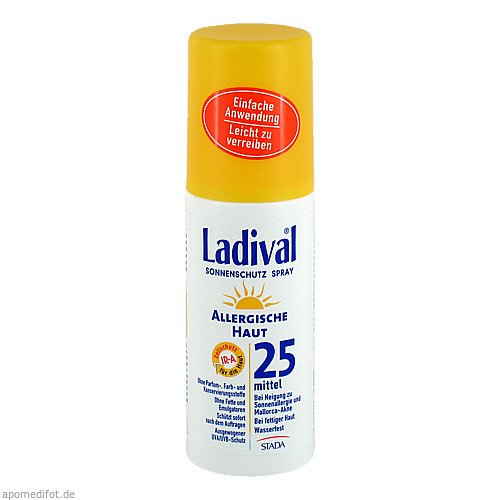 Ladival Allergische Haut Spray LSF 25, 150 ML, STADA GmbH