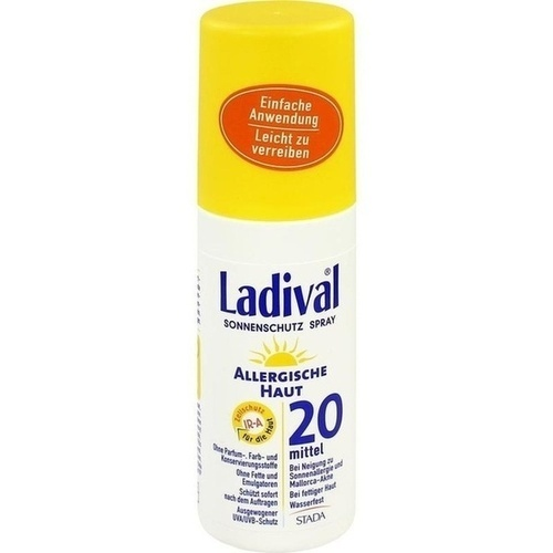 Ladival Allergische Haut Spray LSF 20, 150 ML, STADA GmbH