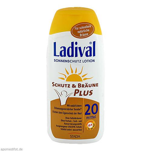 Ladival Schutz&Bräune Plus LSF 20, 200 ML, STADA GmbH