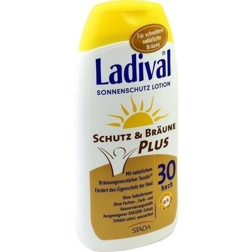 Ladival Schutz&Bräune Plus LSF 30, 200 ML, STADA GmbH