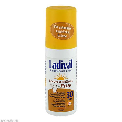 LADIVAL Schutz&Bräune Plus Spray LSF 30, 150 ML, STADA GmbH