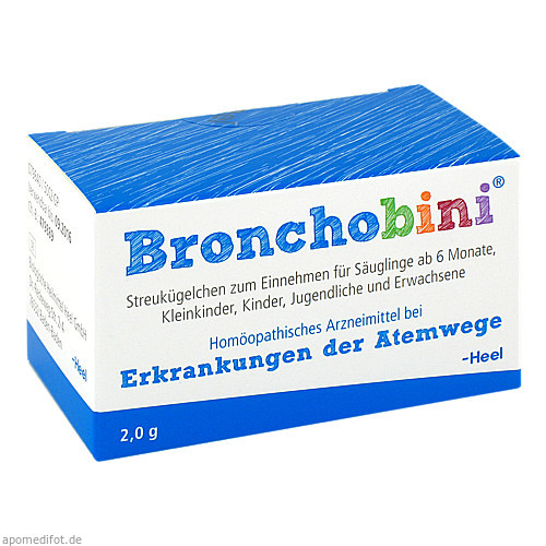 BRONCHOBINI Globuli, 2 G, Biologische Heilmittel Heel GmbH